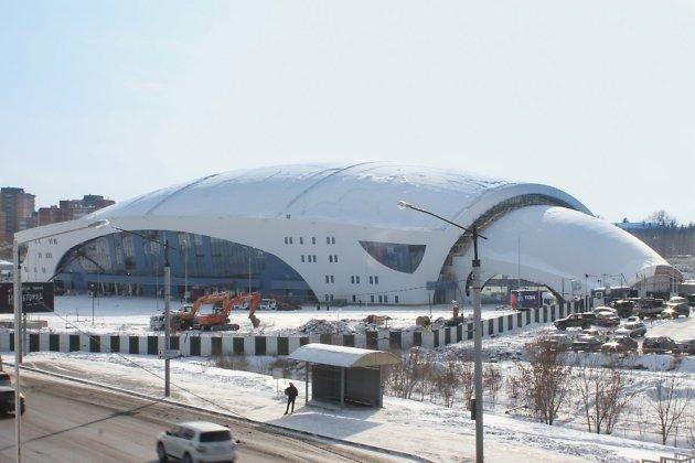 Ледовый дворец «Байкал», по оценкам специалистов, готов на 95%.