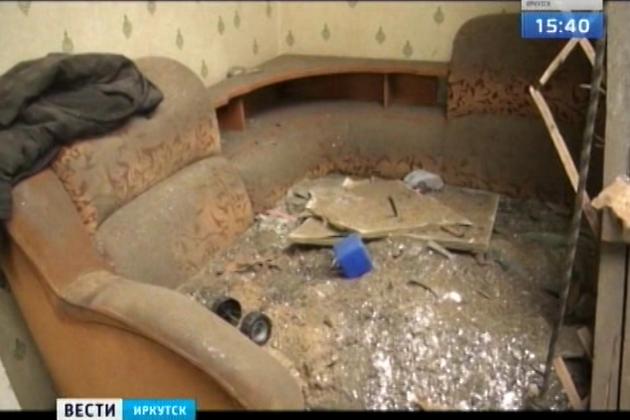 Потолочная балка обрушилась вжилом доме вНижнеудинске впроцессе полноценного ремонта