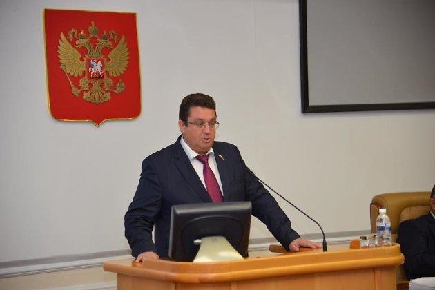 Депутат Законодательного собрания Иркутской области, разработчик законопроекта Андрей Лабыгин