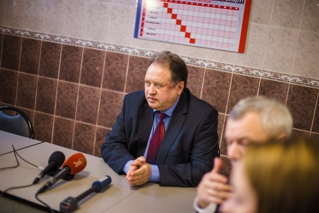 Михаил Радченко готовится произнести судьбоносную фразу