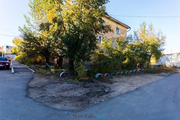 Пример благоустройства на улице Набережной