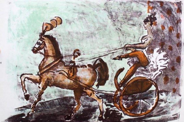 Совместная картина Артура Фонвизина и Аллы Беляковой