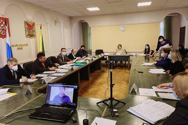 Заседание законодательного собрания Забайкалья