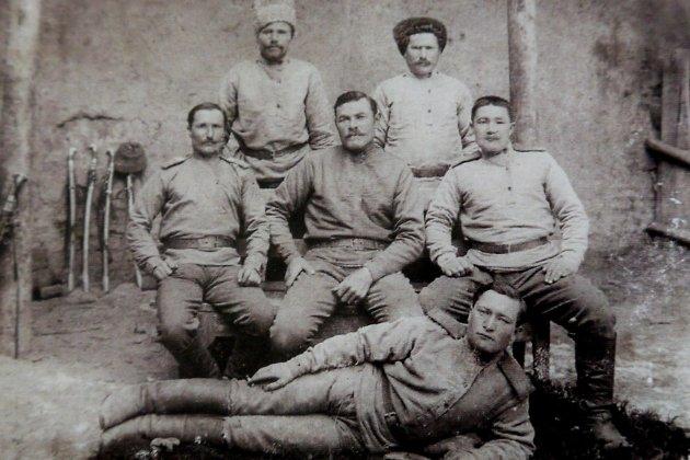 В горах турецкой Армении, казаки 2-го Аргунского полка, 1916 год.