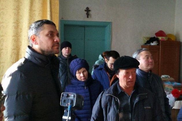 Александр Осипов в церкви села Доно