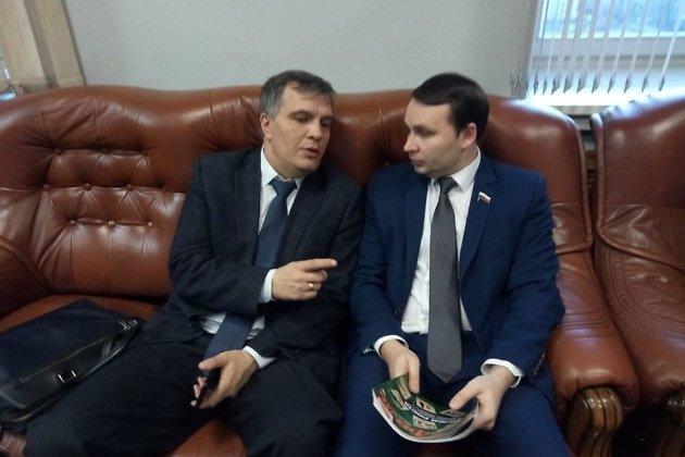 Андрей Томских и Юрий Волков