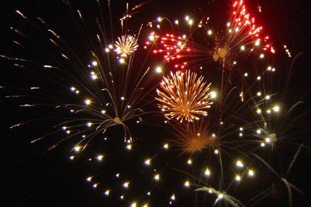 Картинка праздничный фейерверк 23 февраля