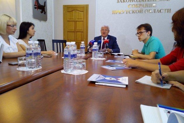 Пресс-конференция Сергея Брилки