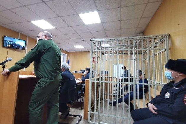 Рамиль Шамсутдинов на скамье подсудимых