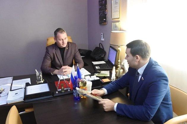 Александр Сапожников и Юрий Волков