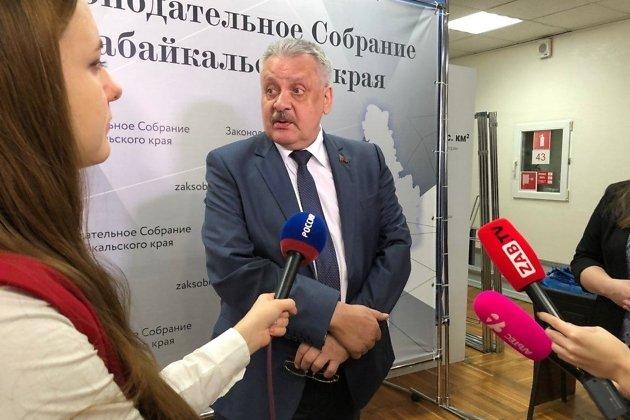 Депутат заксобрания Забайкальского края Александр Михайлов