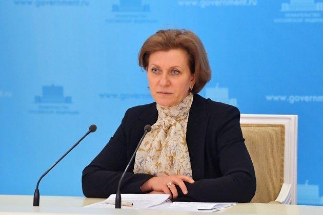 Глава Роспотребнадзора России Анна Попова