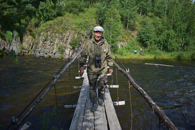 Олег, смотритель кордона