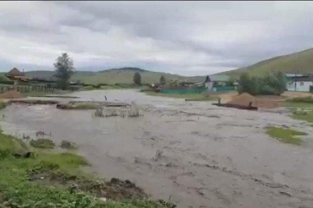 Подтопление в селе Размахнино Шилкинского района
