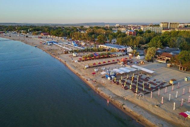 Анапа - городской пляж.