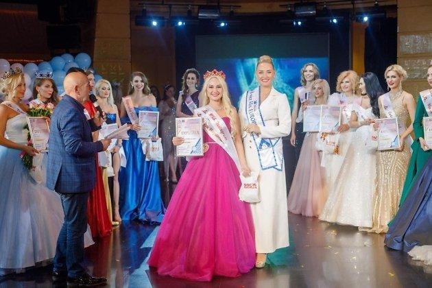 Екатерина Шарыпова на конкурсе красоты «Миссис и леди хрустальная корона России - 2021»