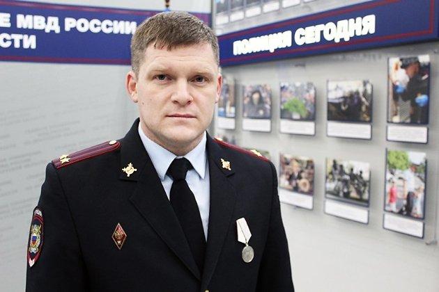 Начальник межмунипального отдела МВД России «Киренский» подполковник полиции Сергей Рогачков