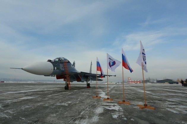 Партию Су-30СМ сказал Иркутский авиазавод ВМФ Российской Федерации