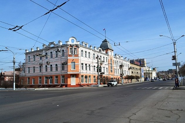 Доходный дом Полутова, в котором сегодня находится администрация Читы и гордума