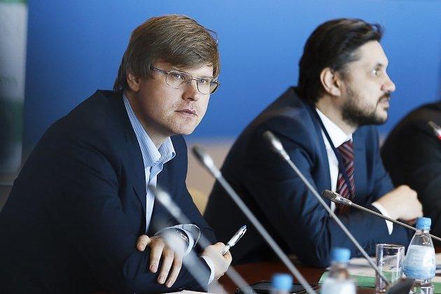 Вице-губернатор Нехаев и замминстра Осипов обсуждают ТОРы, 2015 год