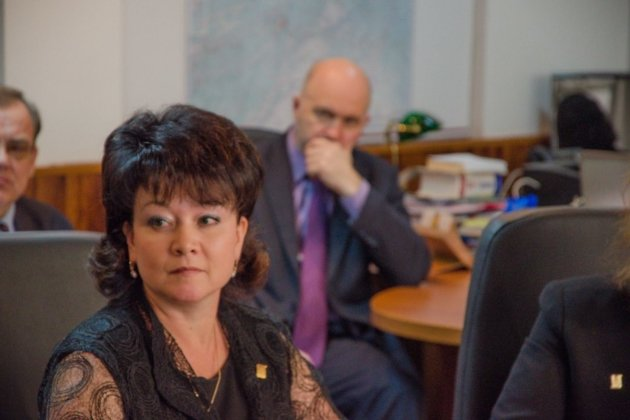 Светлана Судакова в день избрания председателем краевого избиркома