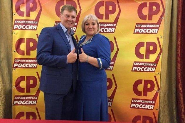 Александр  Зубков и Лариса Егорова