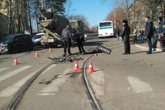 ВАнгарске автобус насмерть задавил велосипедиста