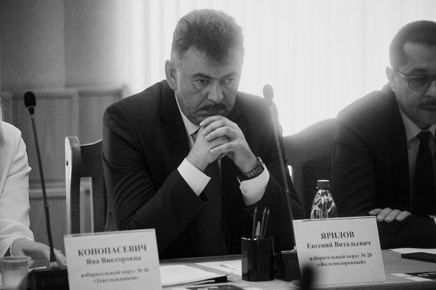 Евгений Ярилов рядом с депутатом Максимом Потаповым
