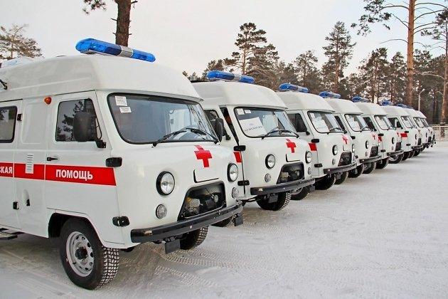 Новые автомобили скорой помощи