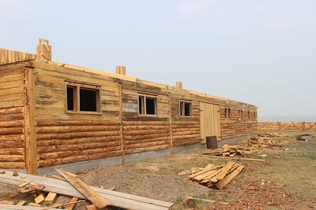 Место строительства новой чабанской стоянки
