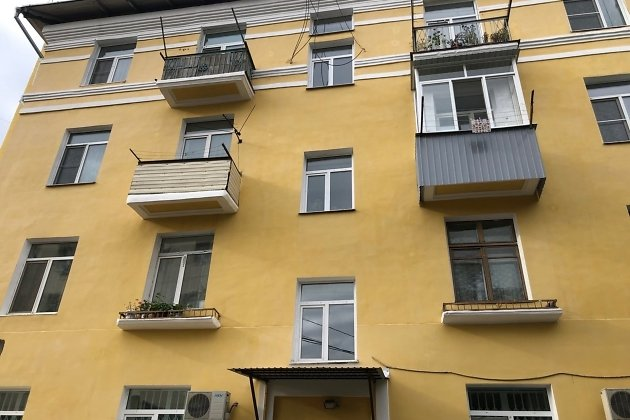 Обновлённый фасад