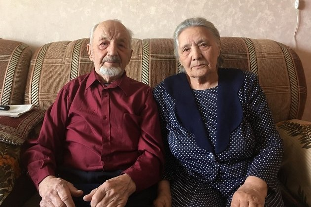 Георгий Фёдорович и Анна Ивановна Пыхаловы