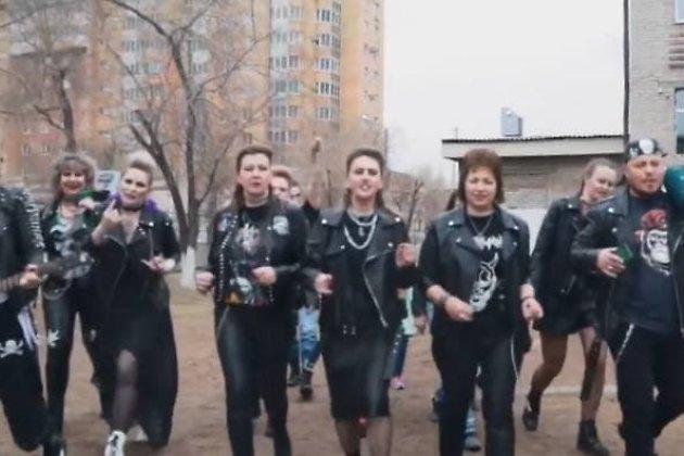 Панк-клип для выпускников школы №2