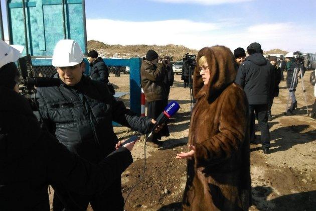 Глава Забайкалья Наталья Жданова комментирует начало строительство рудника №6 в Краснокаменске