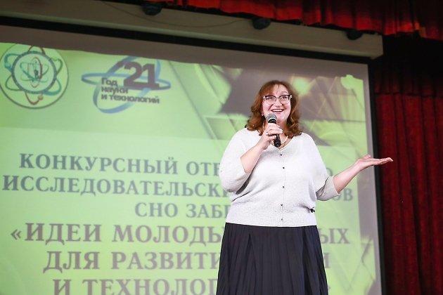 Проректор по научной и инновационной работе, д. т. н., профессор ЗабГУ Алиса Хатькова