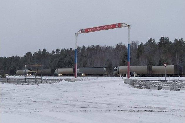 Трасса Иркутск-Чита между Хилком и Улётами