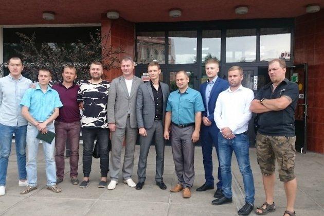 Члены Союза кинематографистов Забайкальского края после первого заседания 17 июля 2017 года.