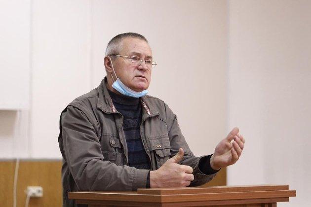 Отец погибшего Виталия Раздобреева