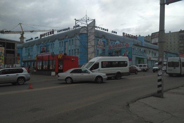 ДТП на улице Виля Липатова в Чите