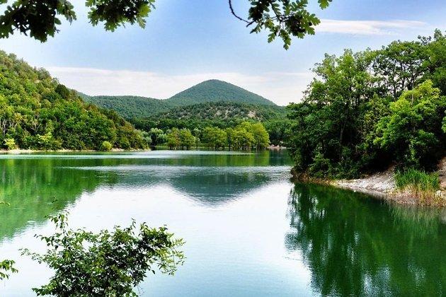 Сукко - кипарисовое озеро