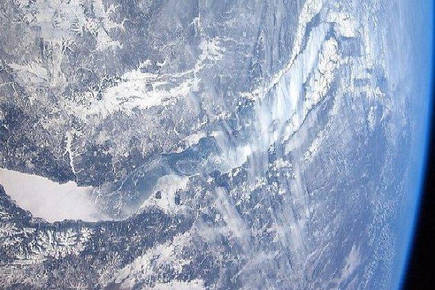 Байкал с высоты МКС