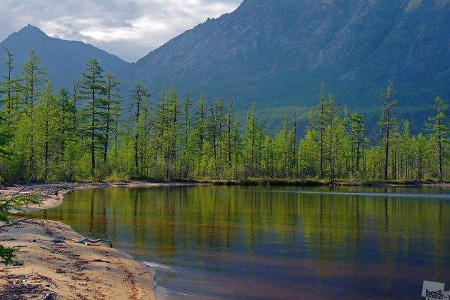 Озеро Малое Леприндо
