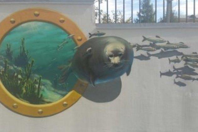 ВИркутске наулице Гоголя возникла приуроченная к Байкалу галерея 3D-рисунков