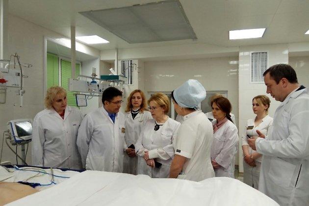Министр здравоохранения РФ в краевом ожоговом центре в Чите