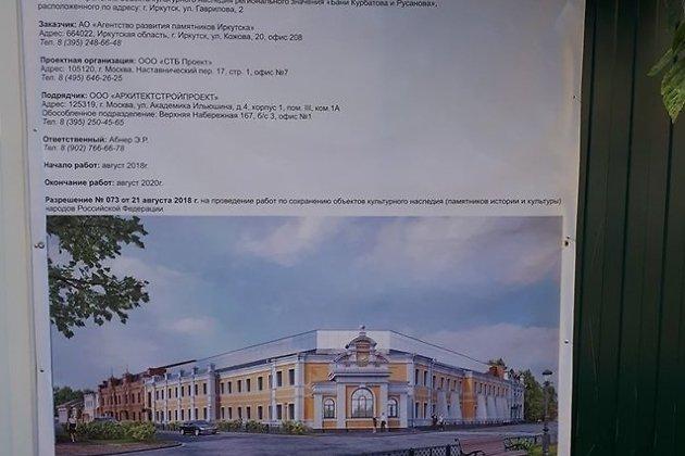 проект Курбатовских бань