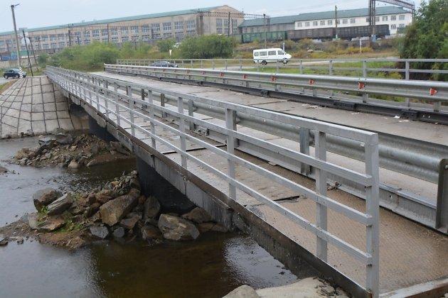 мост в Шилке