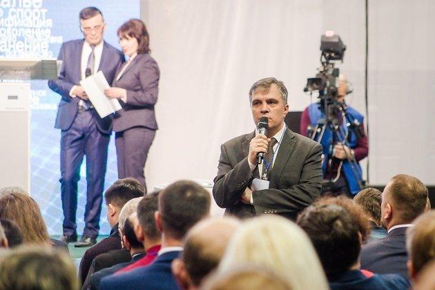 Министр образования, науки и молодёжной политики Забайкальского края Андрей Томских