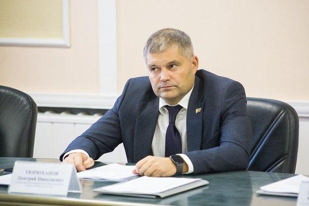 Депутат заксобрания Забайкалья, руководитель фракции ЛДПР Дмитрий Тюрюханов