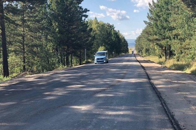 Ремонт дороги в селе Дровянная