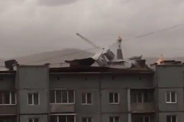 крыша, ураган, сорванные крыши, штормовое
